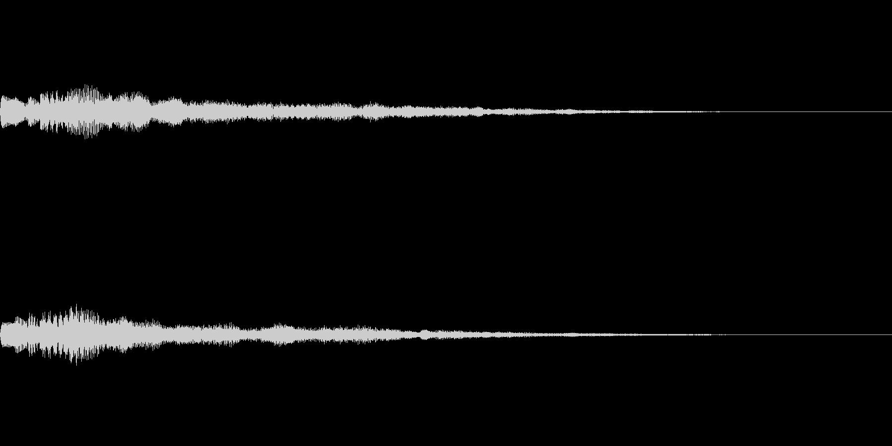 [ティロリン]パラメータUP(柔かい)の未再生の波形