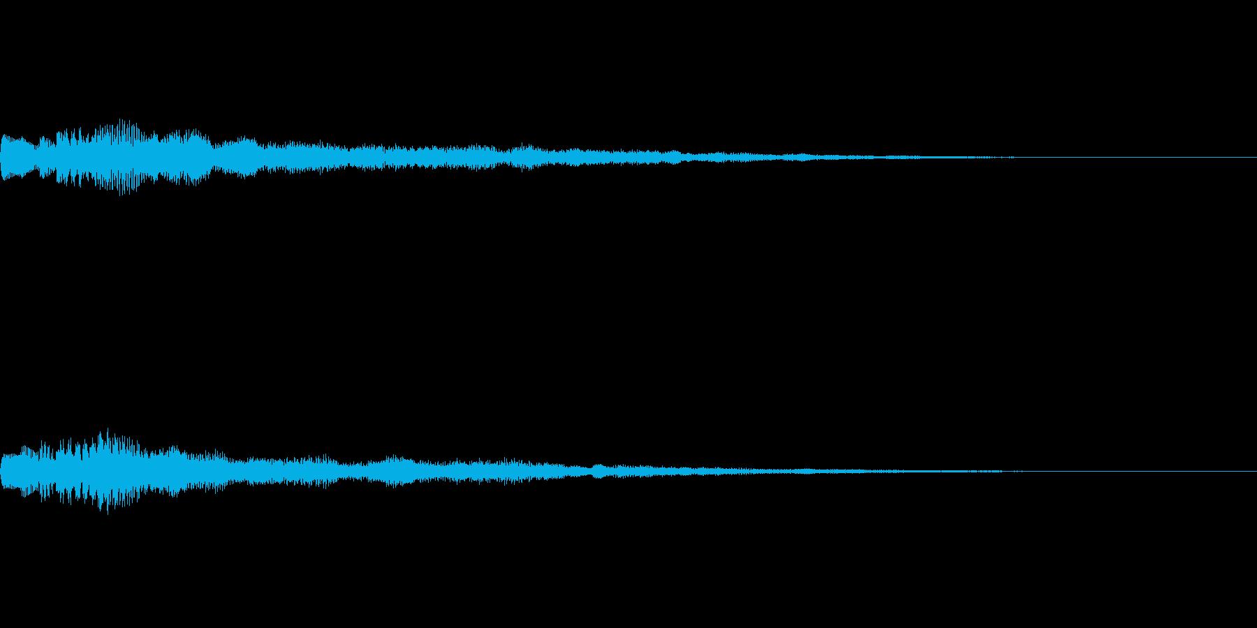[ティロリン]パラメータUP(柔かい)の再生済みの波形