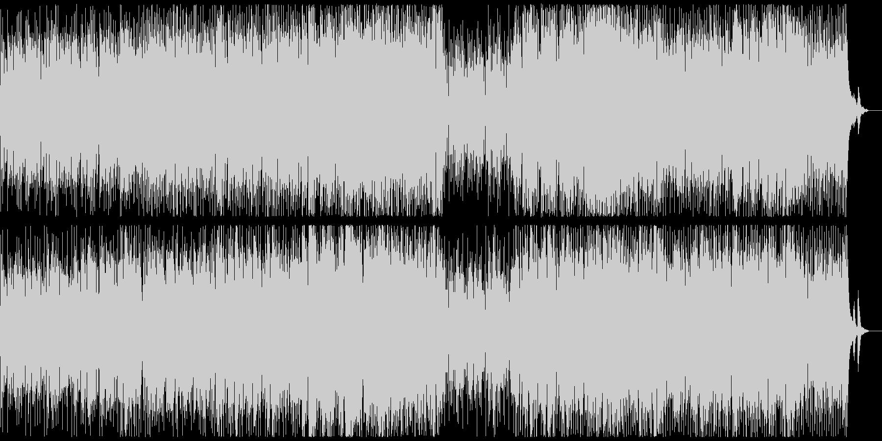 おしゃれなボサノバの未再生の波形