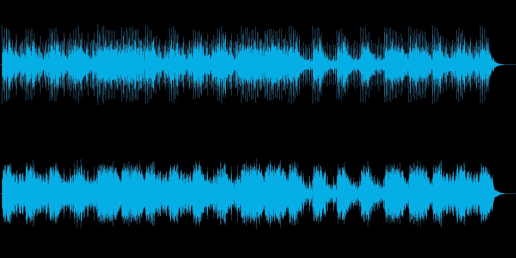爽やか癒し系ミュージックの再生済みの波形