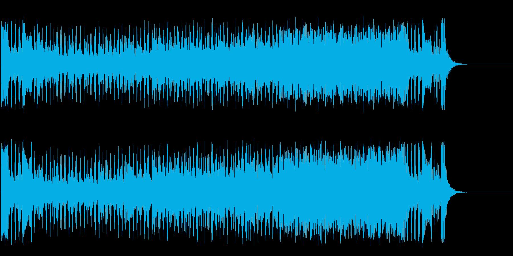 コミカルで元気なオープニング・ポップスの再生済みの波形