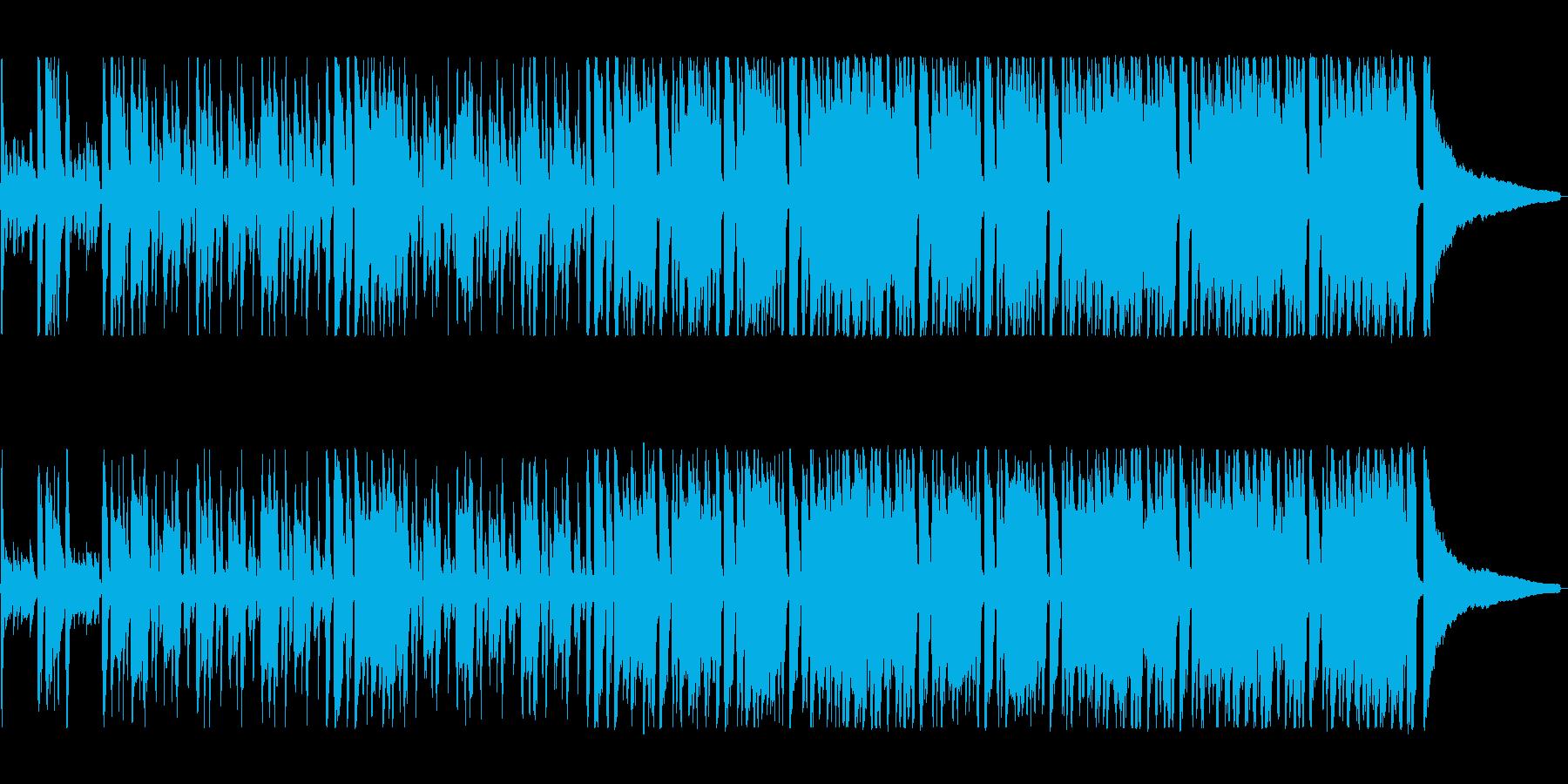 口笛を使った明るく楽しい雰囲気の曲の再生済みの波形