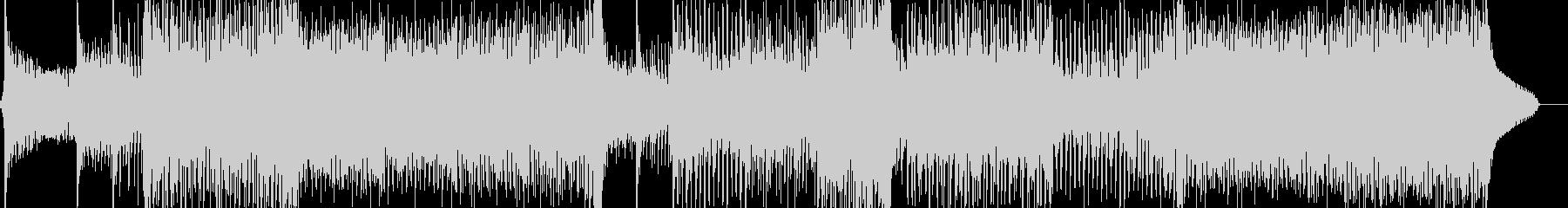 民族音階とサイケデリックなEDMの未再生の波形