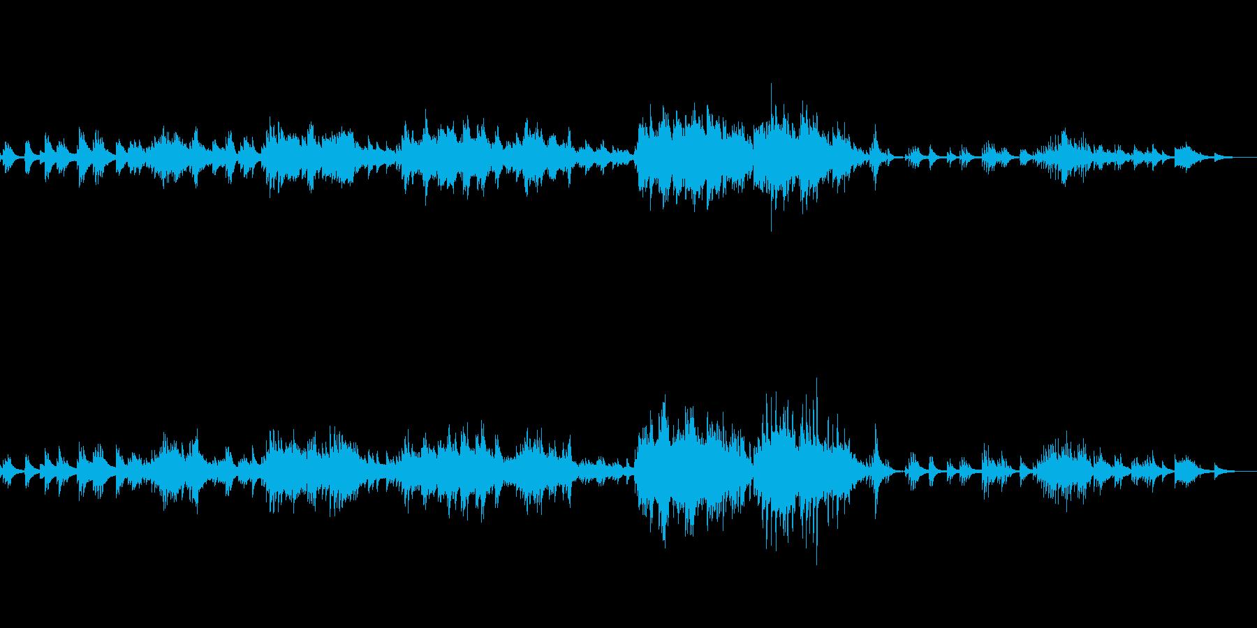 C=528Hz 癒しのピアノ 希望の再生済みの波形