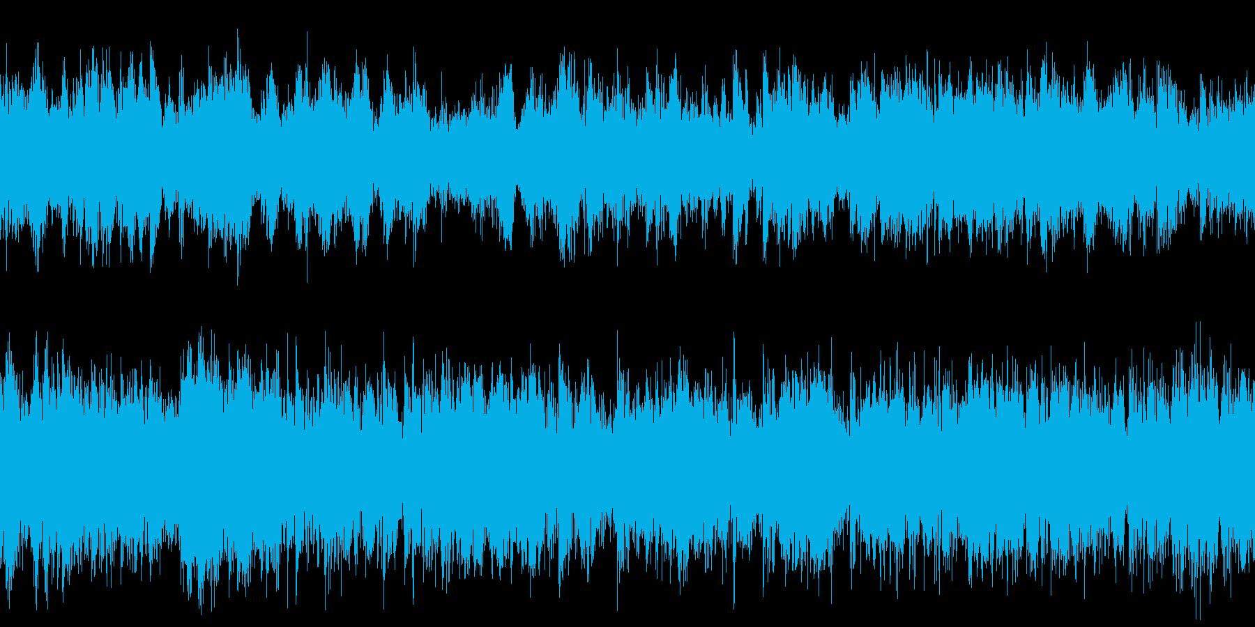UFOキャッチャー背景音【ループ】の再生済みの波形