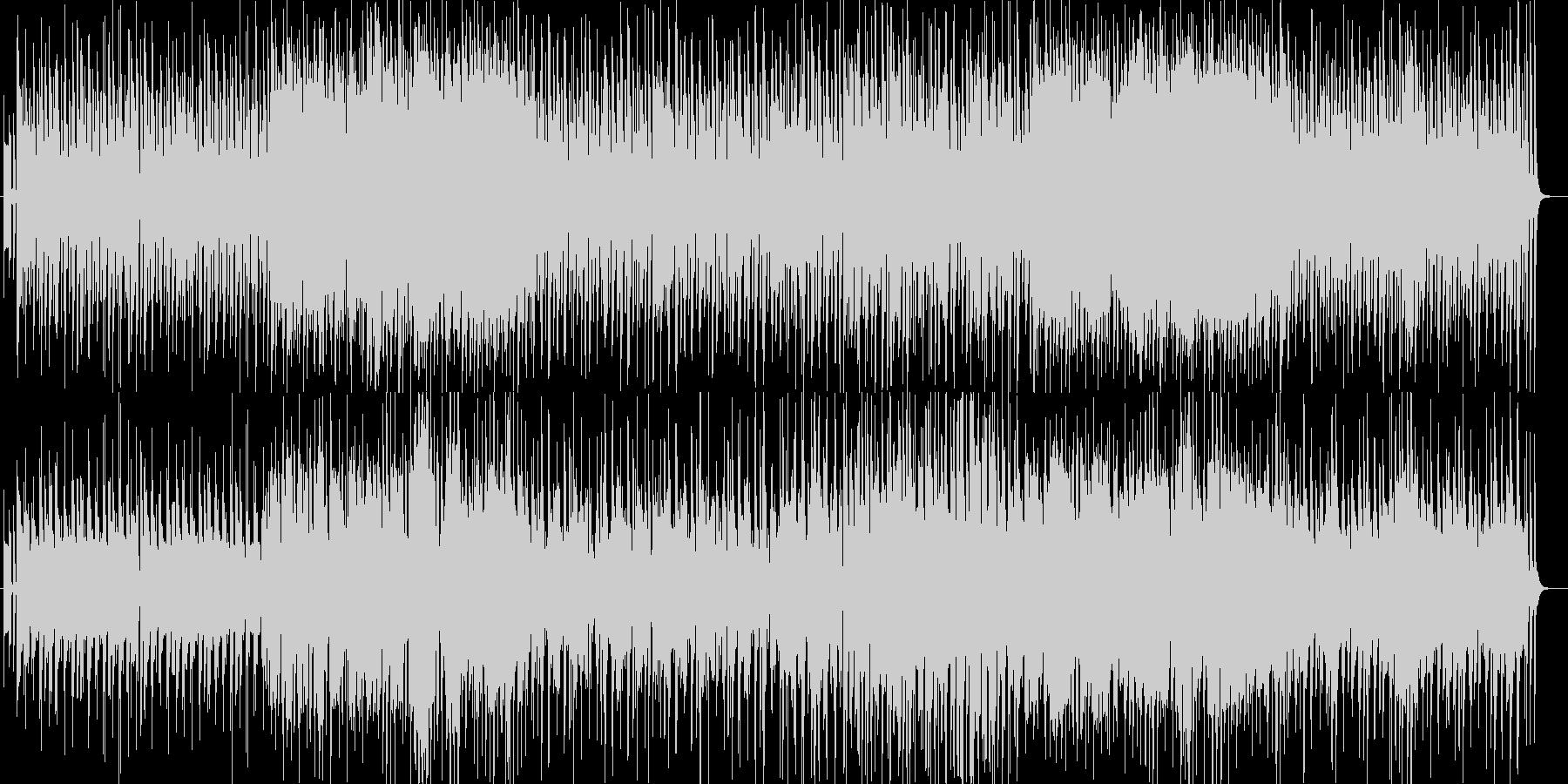 ほのぼのゆっくりなシンセサイザーサウンドの未再生の波形