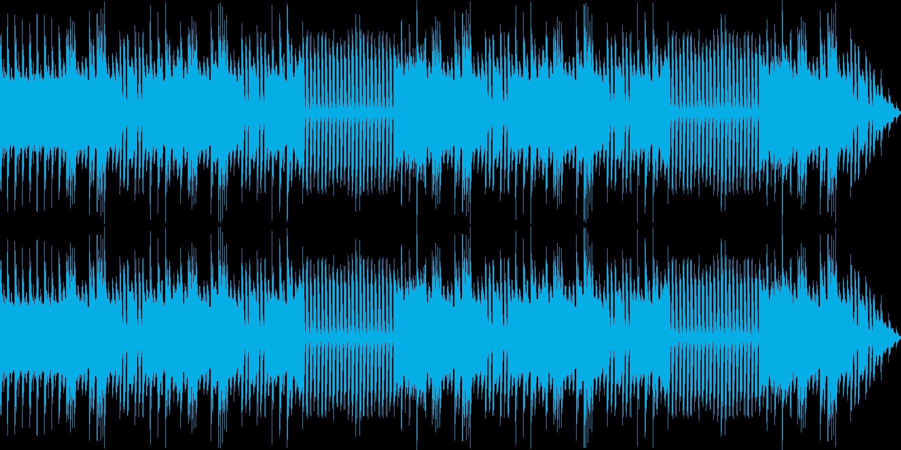 お正月にぴったりの和風の趣きがあるBGMの再生済みの波形