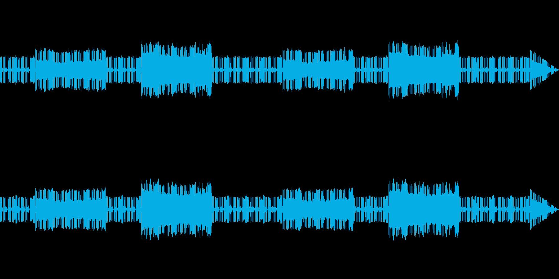懐かしい雰囲気のダンジョンBGMの再生済みの波形