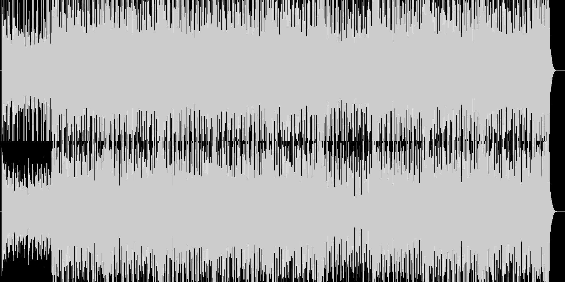 ギターが入ったポッブなBGM(メロ抜き)の未再生の波形