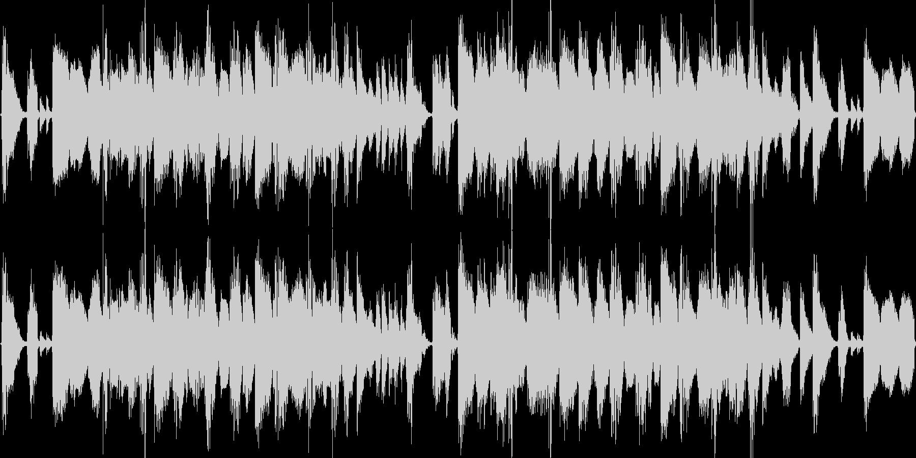 ダブステップのループBGMの未再生の波形