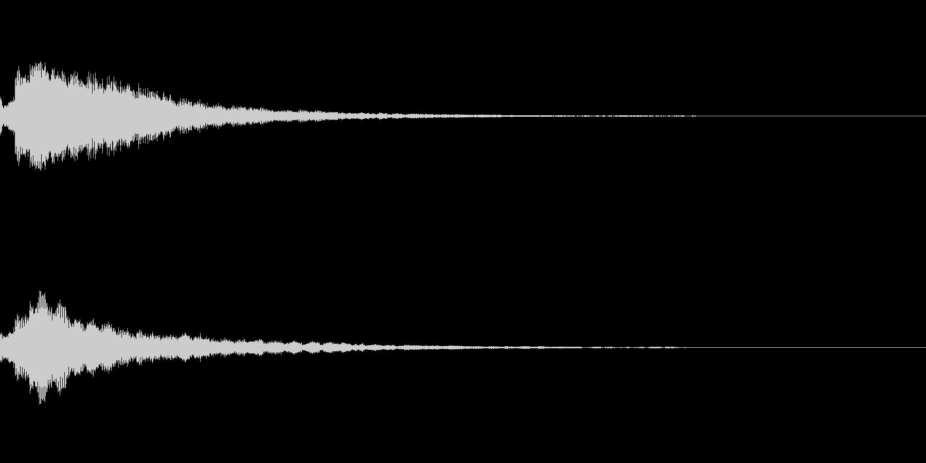 しゃらん♪ (連鎖08)の未再生の波形