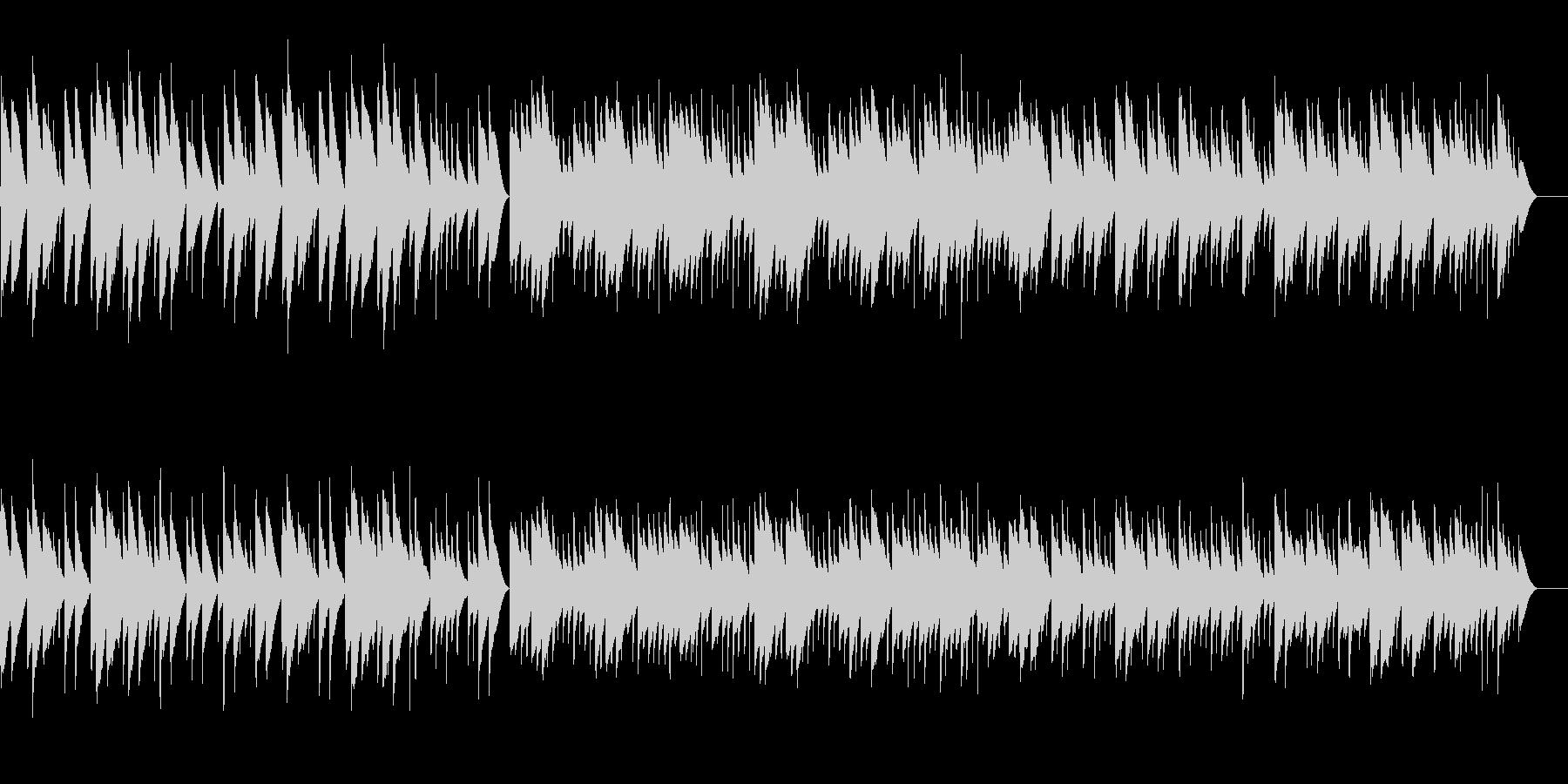 ヘンデル サラバンド (オルゴール)の未再生の波形