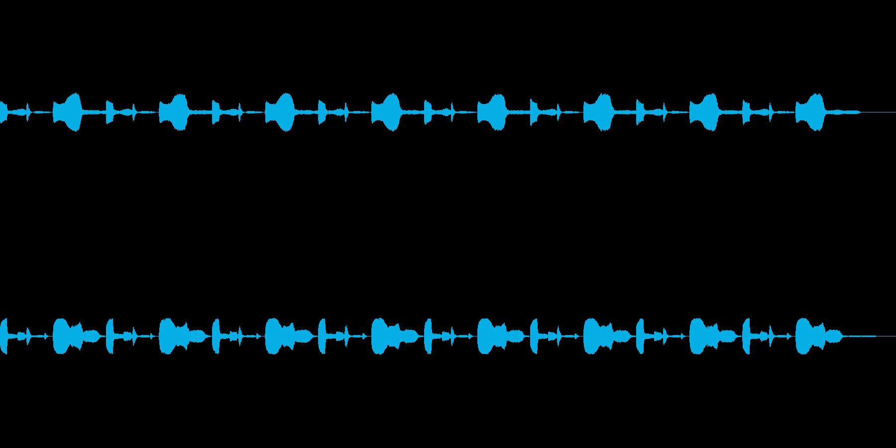 警告音、緊急事態のアラーム用の再生済みの波形