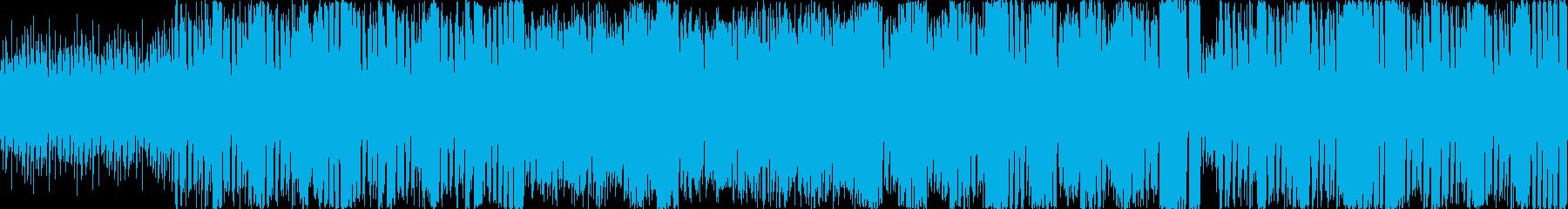 陽気で情熱的ななポップなラテン楽曲の再生済みの波形