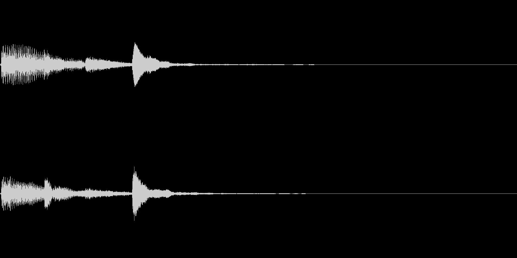 ピアノ SE04の未再生の波形