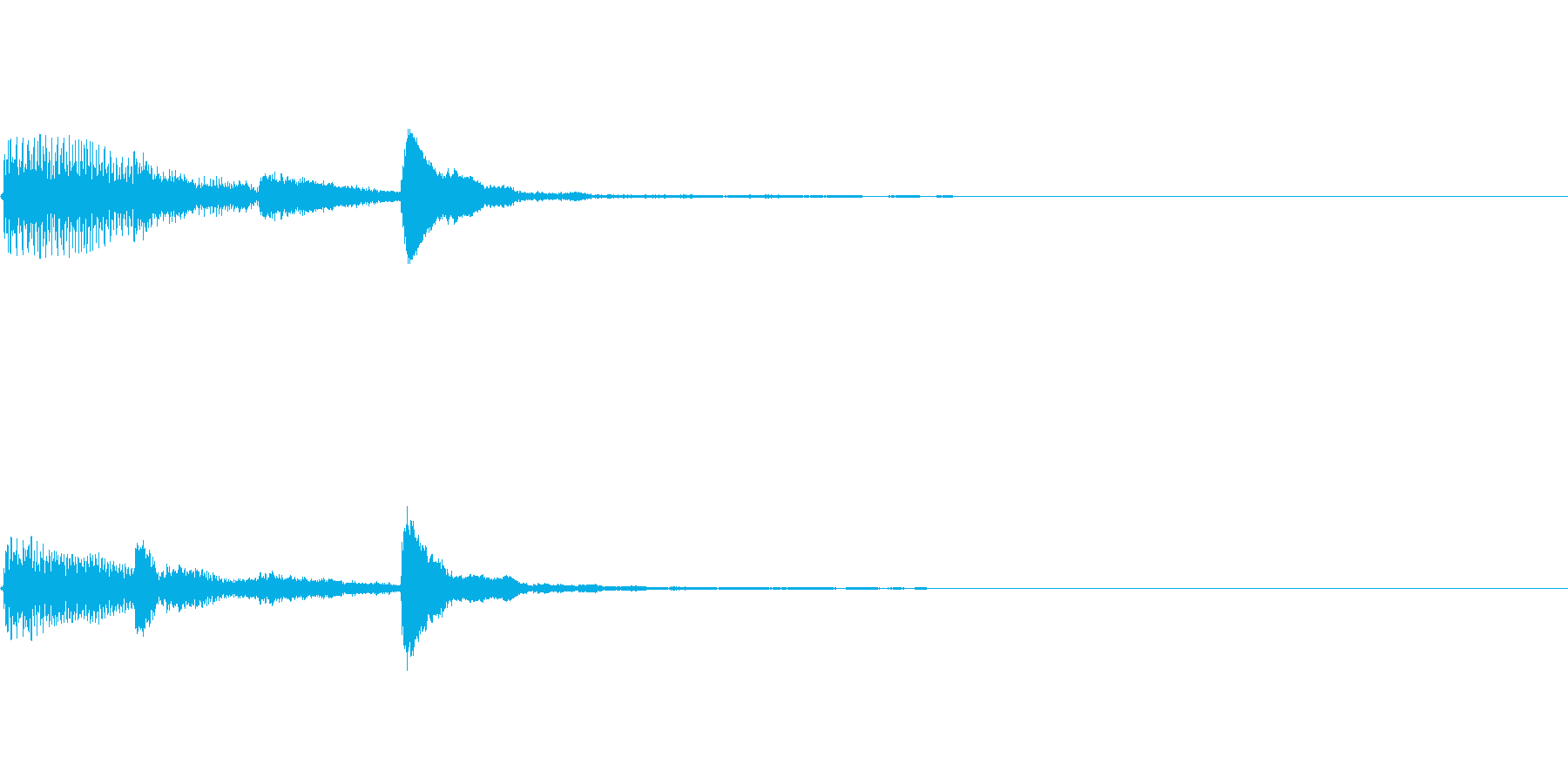 ピアノ SE04の再生済みの波形