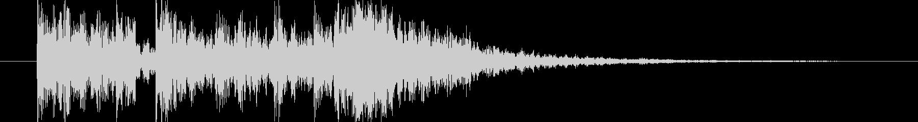 短い和風の効果音 3の未再生の波形