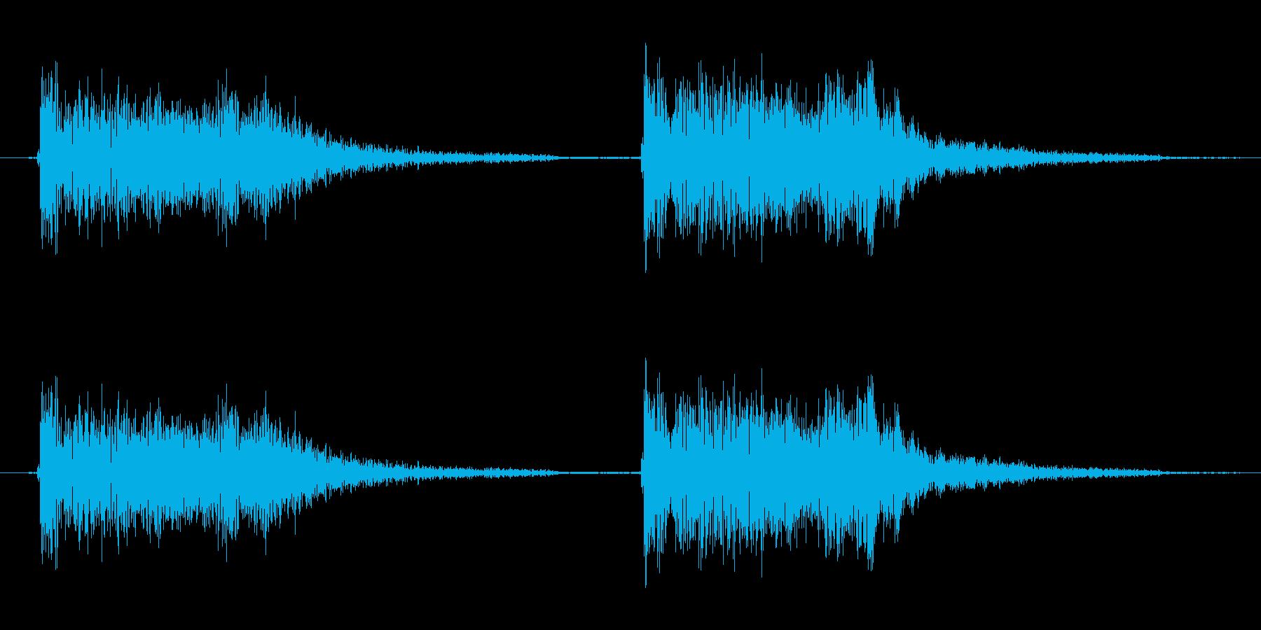 「ジャ ジャン(結果発表系)」の再生済みの波形