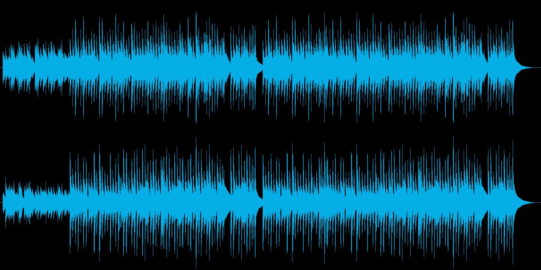 チェレスタと弦による切なくも暖かい曲の再生済みの波形