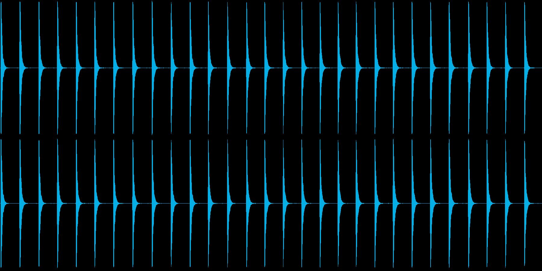 ぽくぽくぽくの再生済みの波形