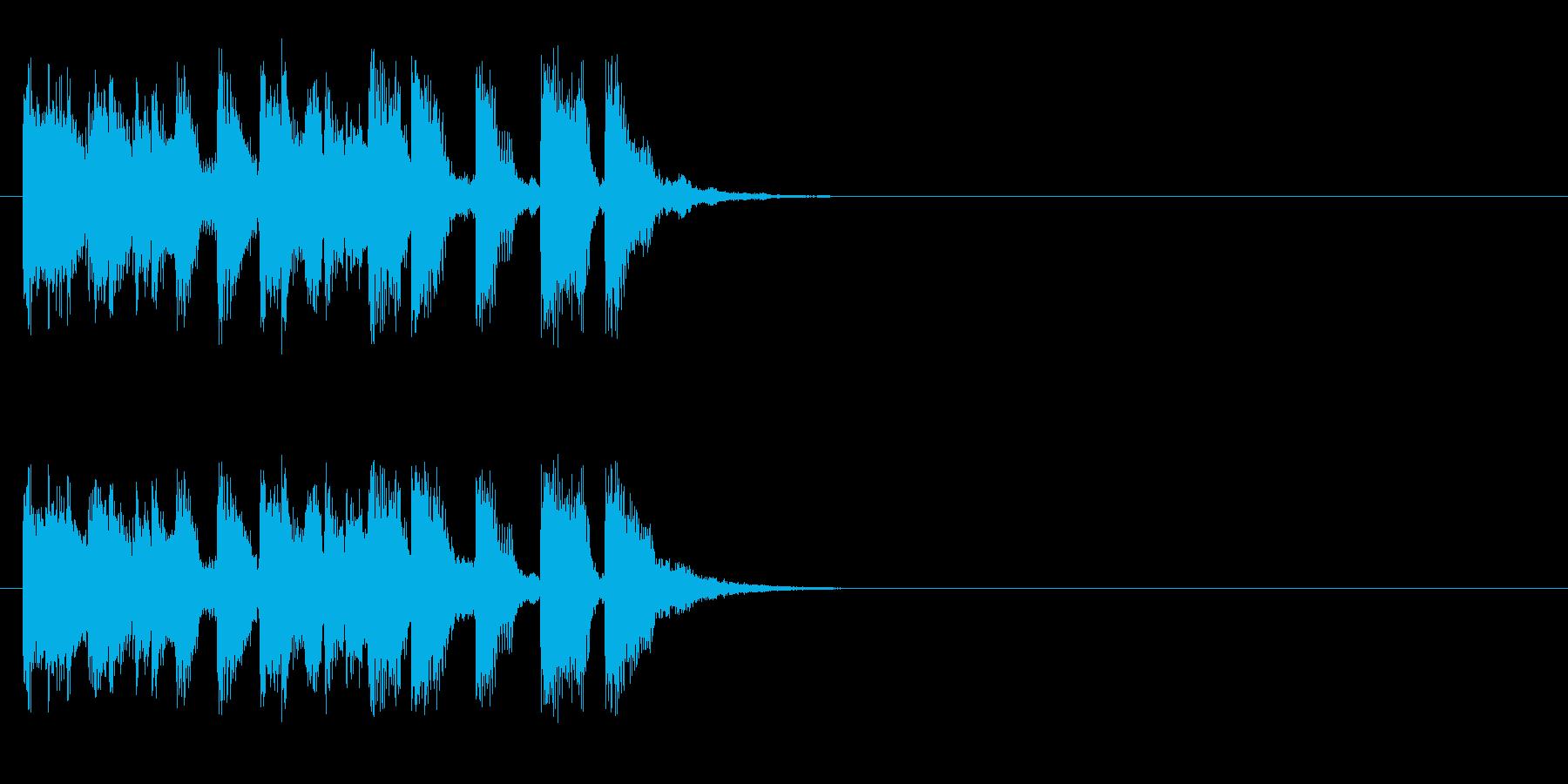 クイズ アタック 情報 CM イベントの再生済みの波形