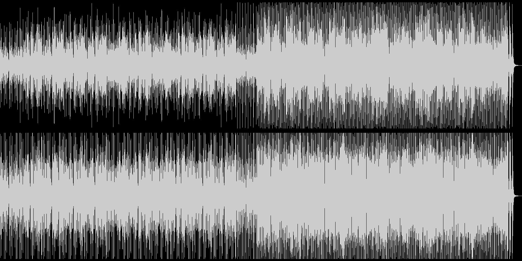 CMやVPに陽気なウクレレと口笛のBGMの未再生の波形