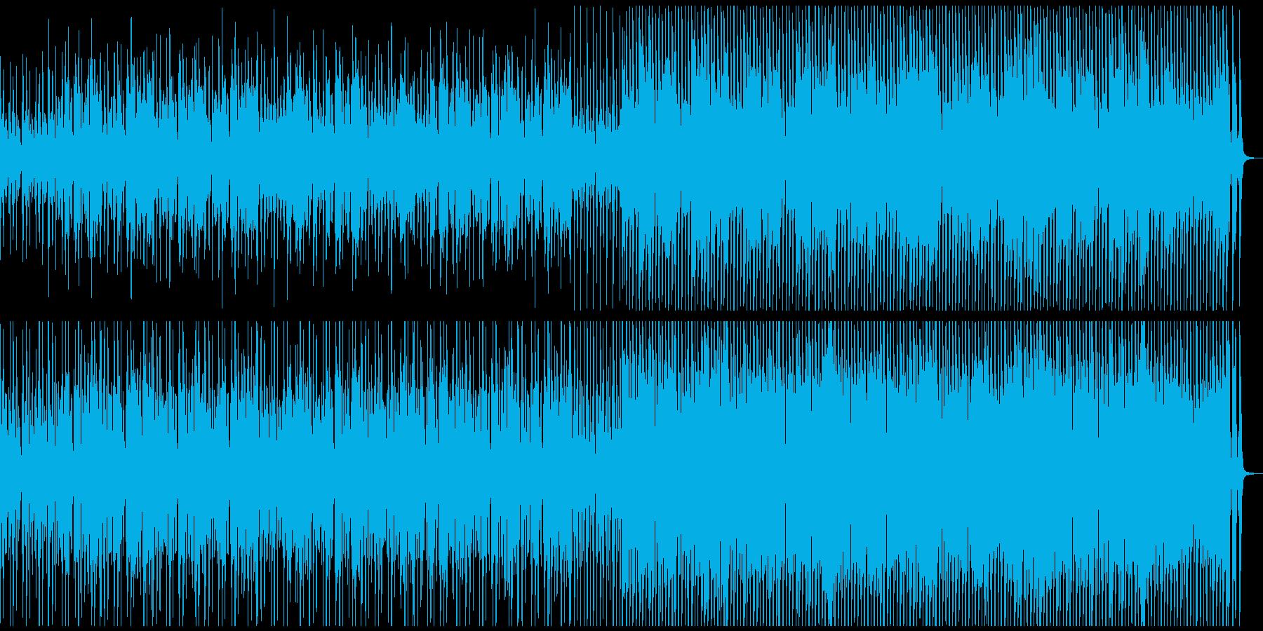 CMやVPに陽気なウクレレと口笛のBGMの再生済みの波形