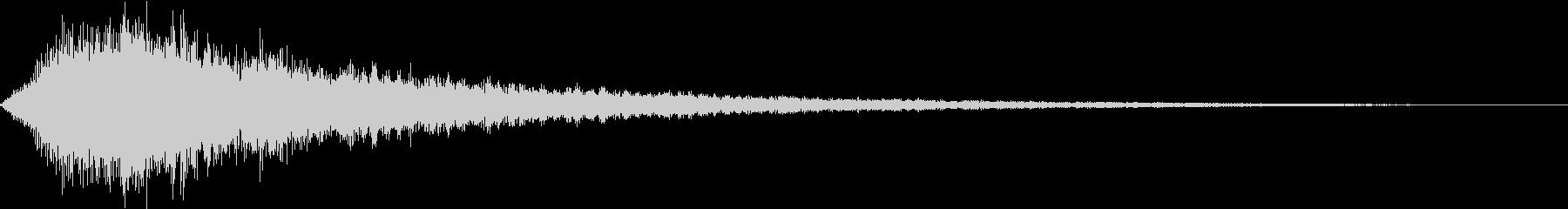 VOX ダーティーなコーラスPAD 1の未再生の波形