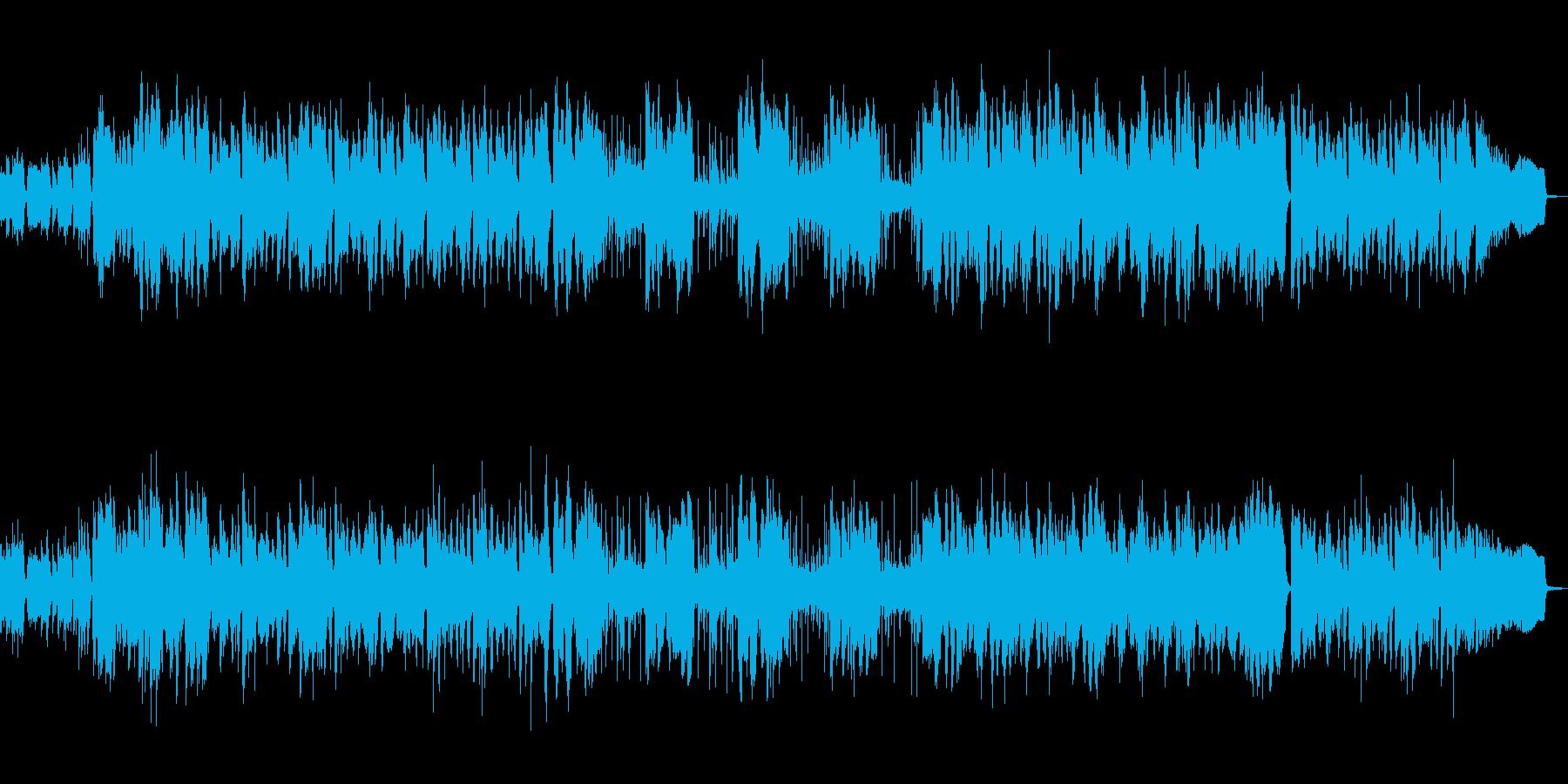 琴、エスニックフルート、ドラム、シンセ…の再生済みの波形