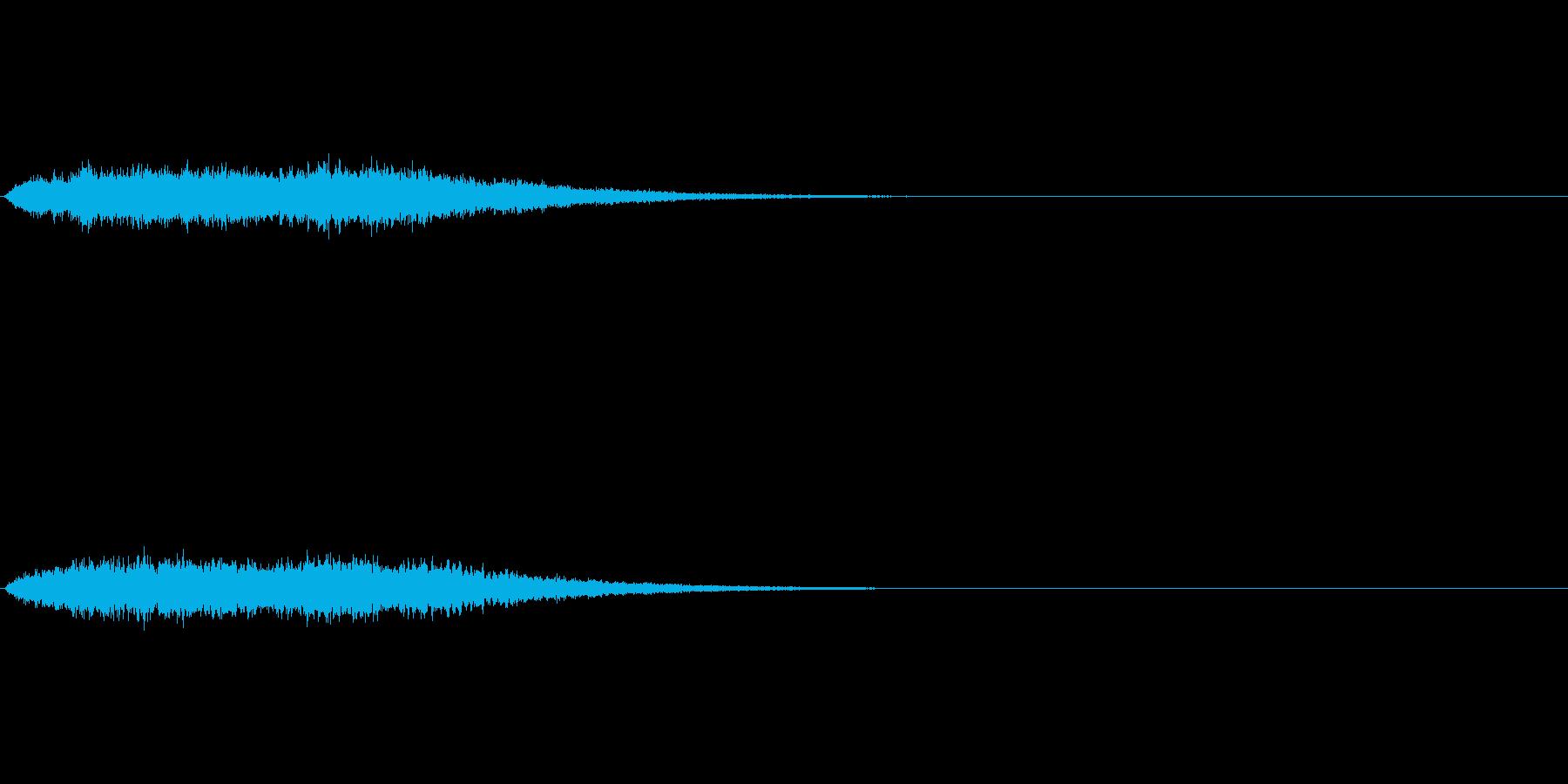 神秘的な音です の再生済みの波形