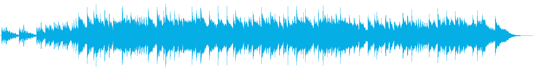 エレピ音でのメンデルスゾーン、結婚行進曲の再生済みの波形
