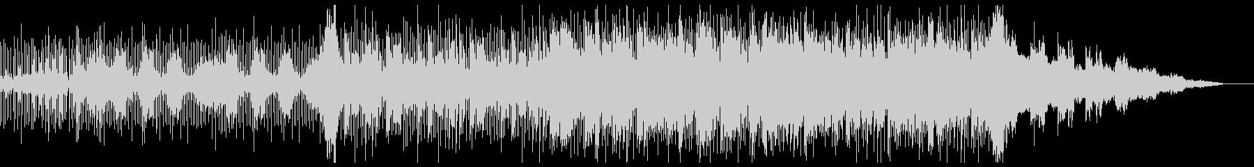 オーガニックなチル・エレクトロニカの未再生の波形