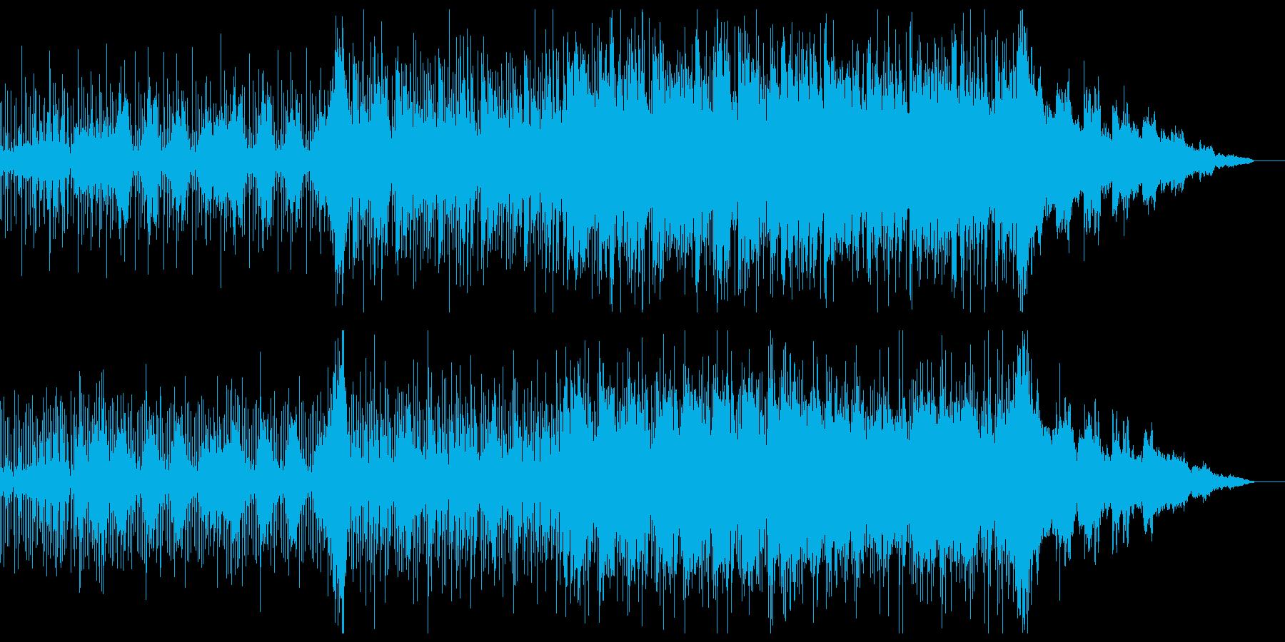 オーガニックなチル・エレクトロニカの再生済みの波形