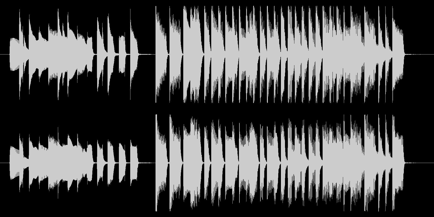 15秒CMサイズの1 家庭用品のCMなどの未再生の波形