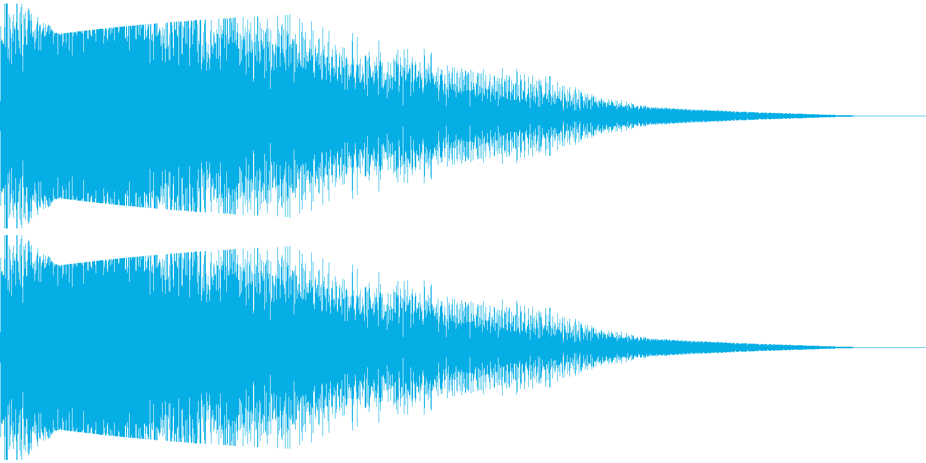ビームライフル発射音 タイプ2の再生済みの波形