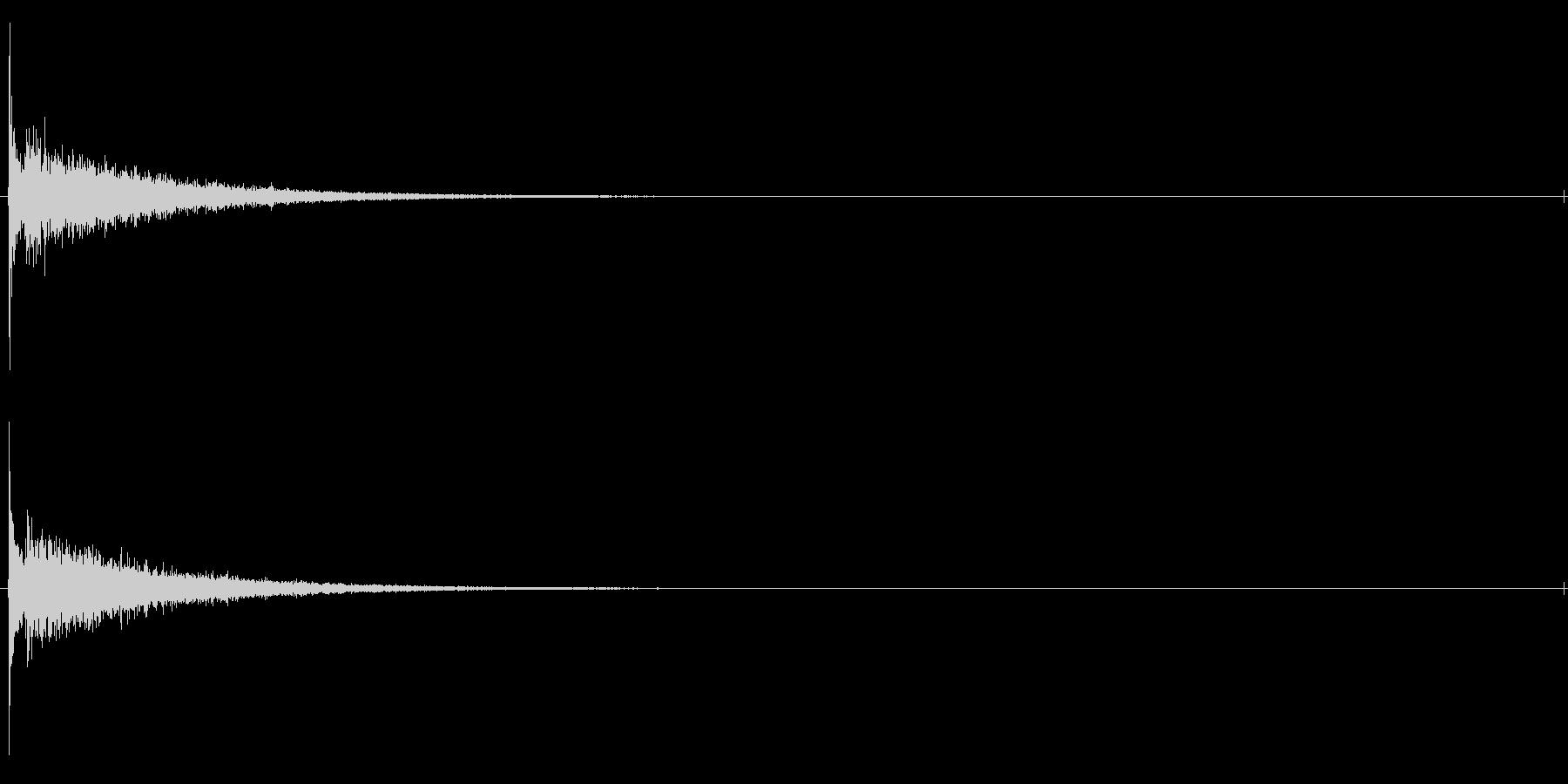 タッチ カーン-2の未再生の波形