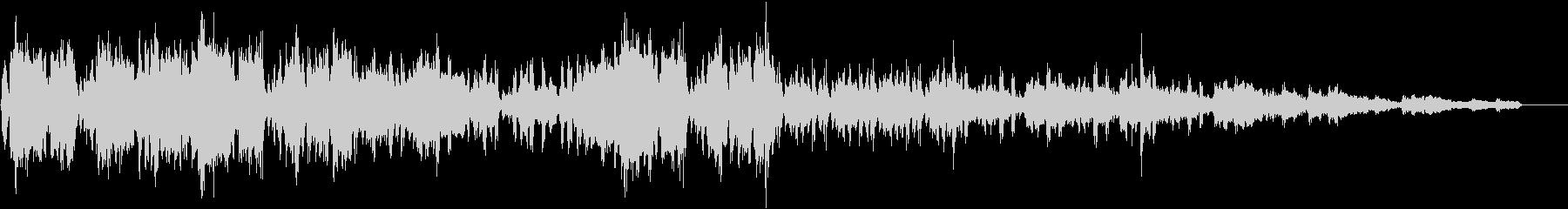 トランペットのソリッドなアシッドジャズの未再生の波形