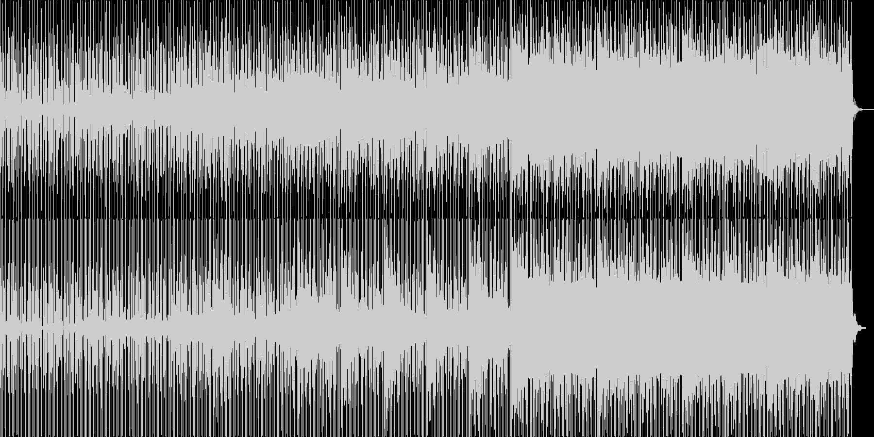 奇妙な雰囲気を感じさせるBGMです。の未再生の波形
