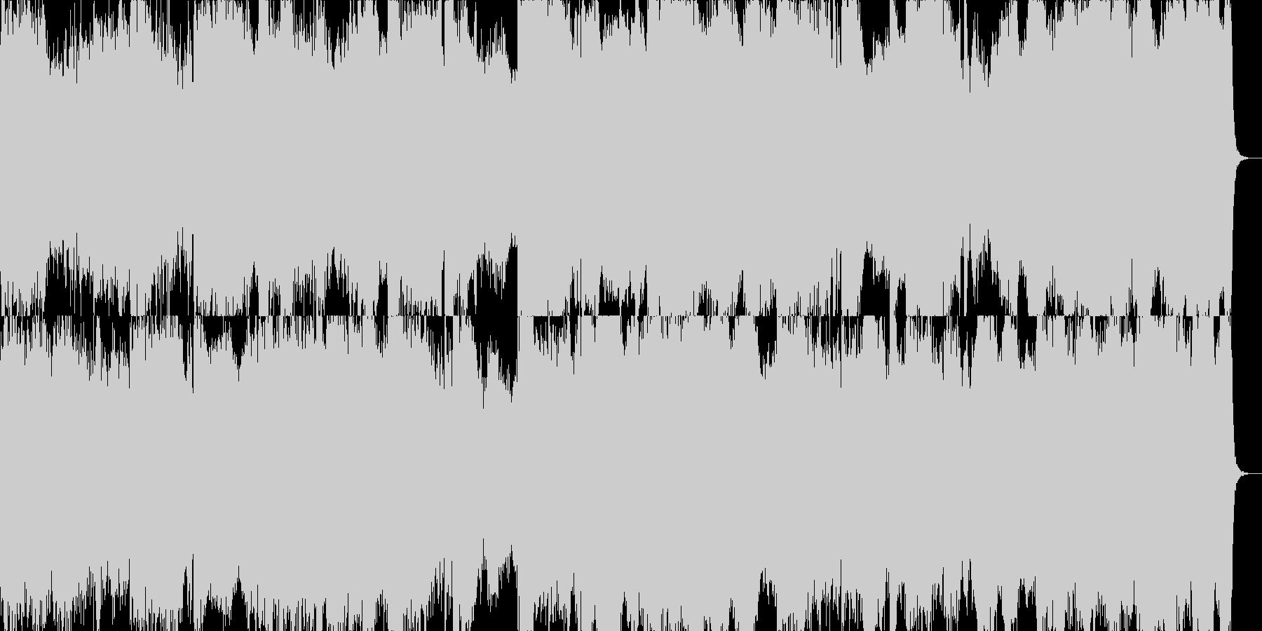 序章・オープニング用プレリュードの未再生の波形
