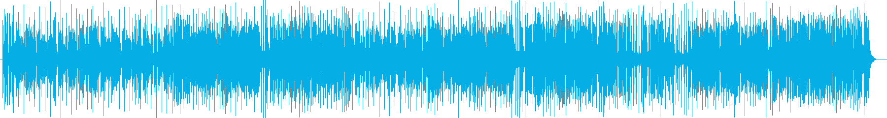 爽やかで華やかなエレキポップスの再生済みの波形