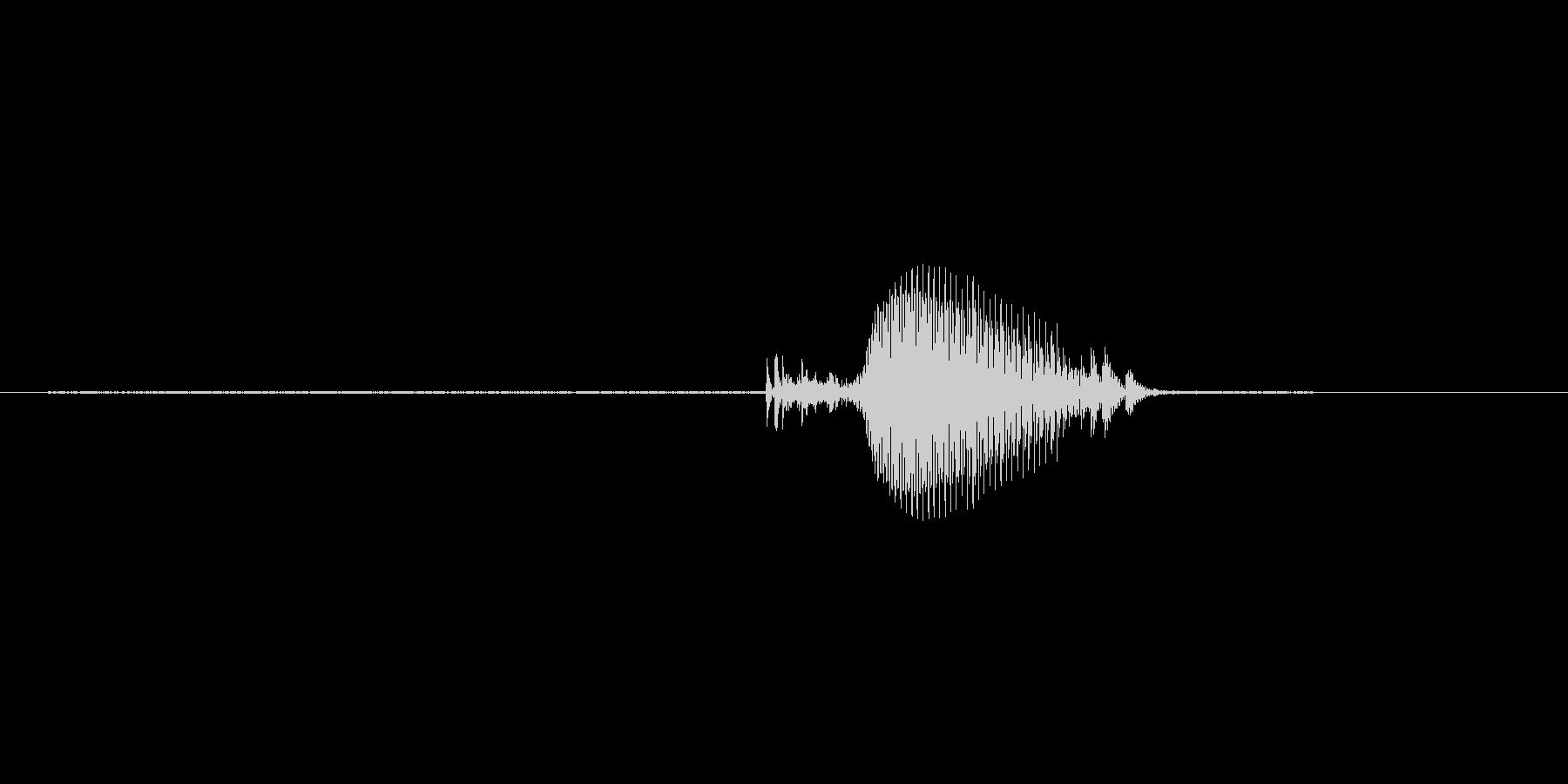 9(く)の未再生の波形