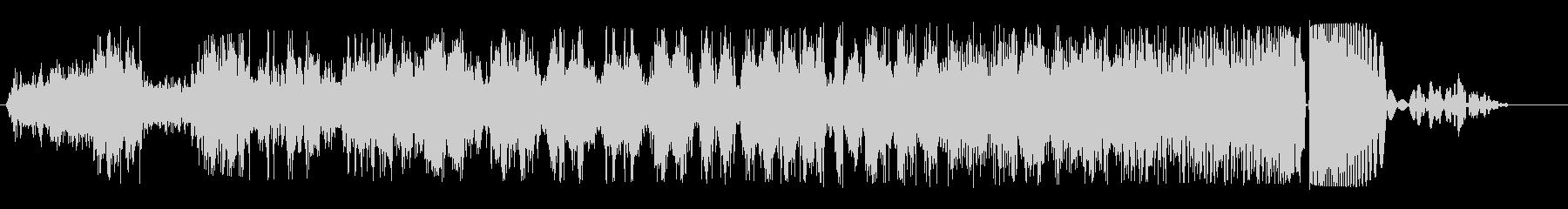 ワープ突入(シュシュシュ...ボフッ)の未再生の波形