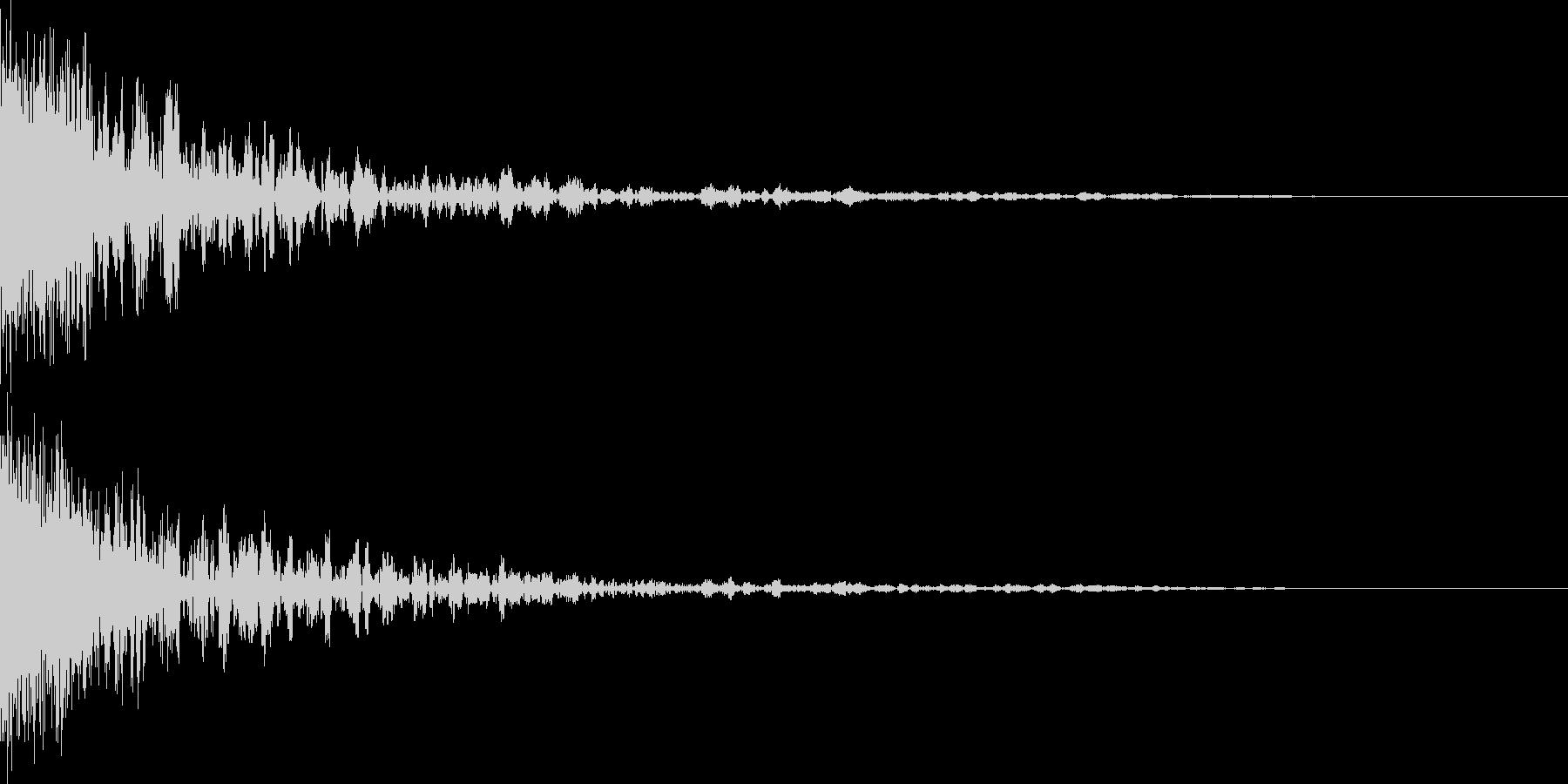 映画に合う効果音12の未再生の波形