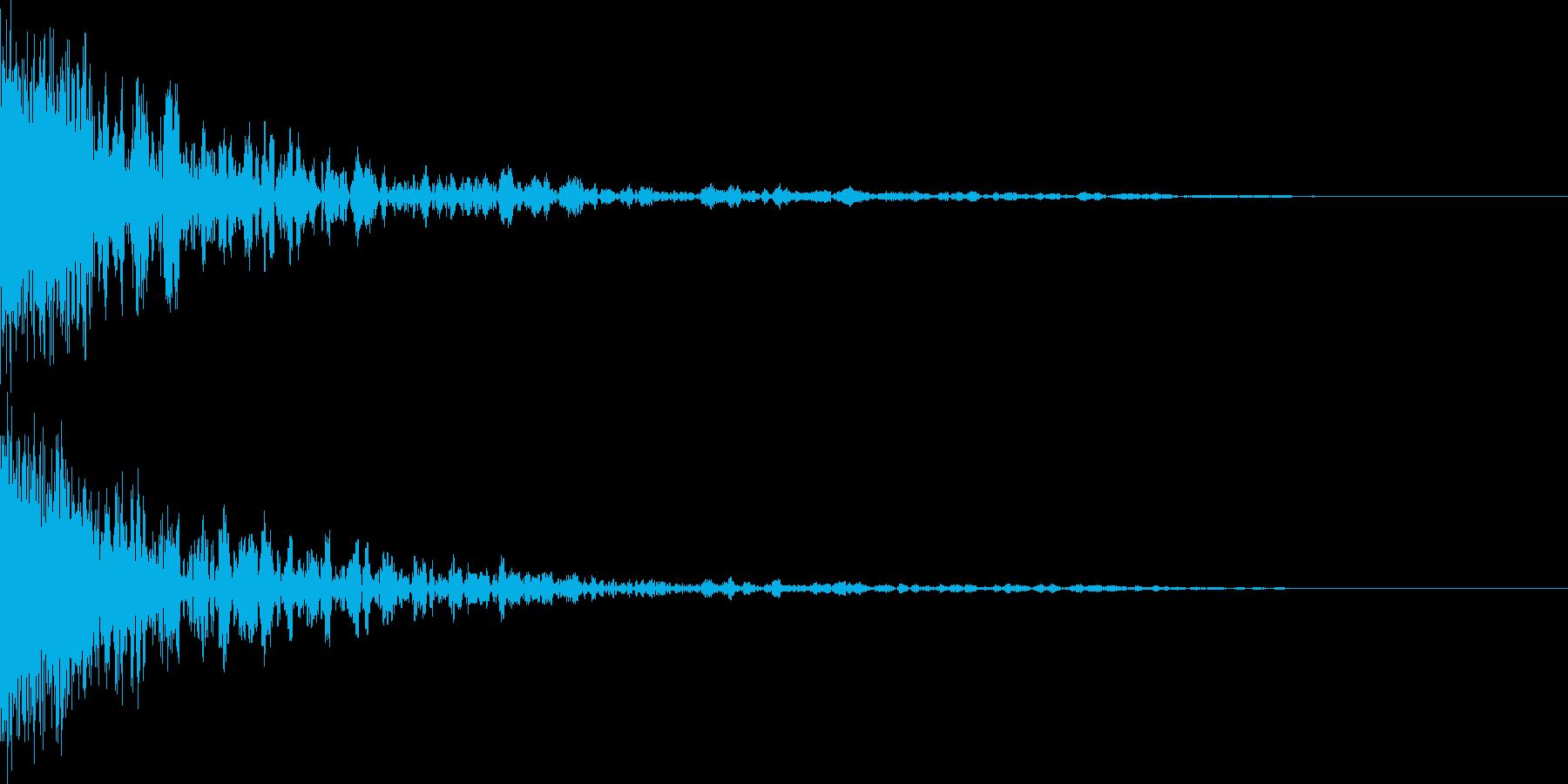 映画に合う効果音12の再生済みの波形