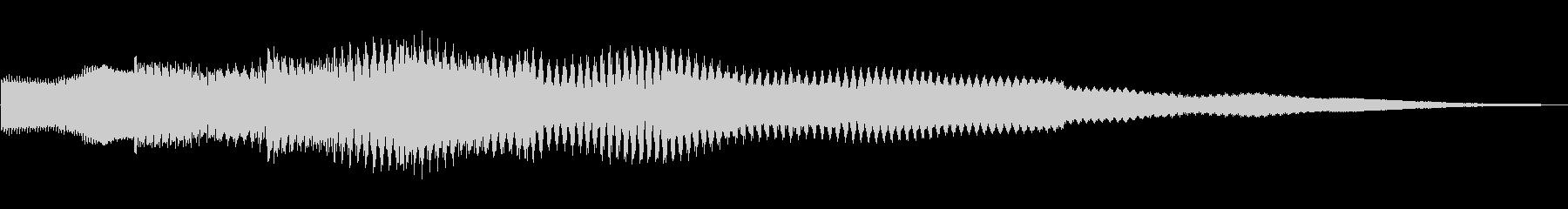 ピコピコーン!!クイズ回答タッチ 01の未再生の波形