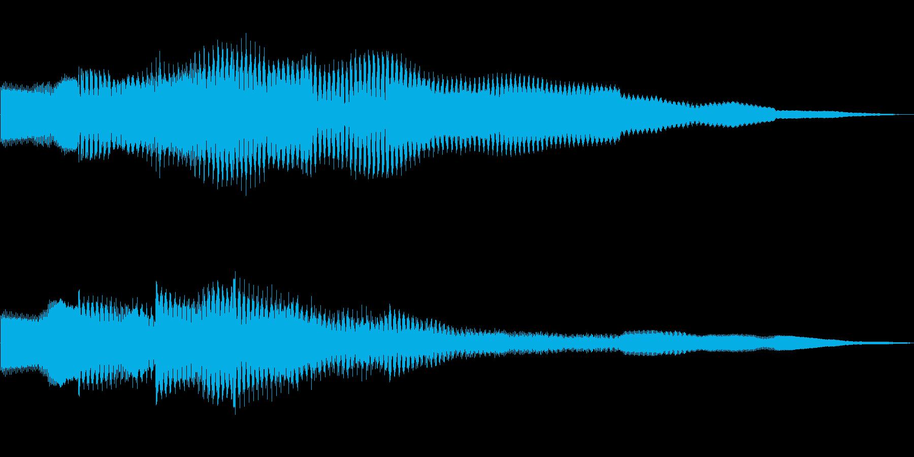 ピコピコーン!!クイズ回答タッチ 01の再生済みの波形