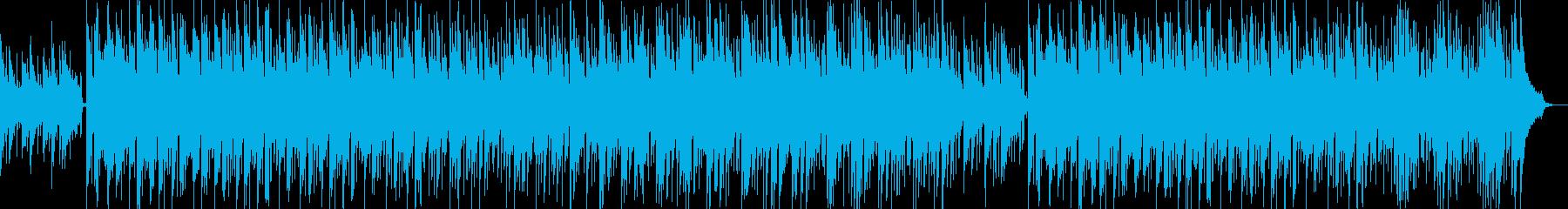 爽やか・軽快・感動的・映像・イベント用の再生済みの波形