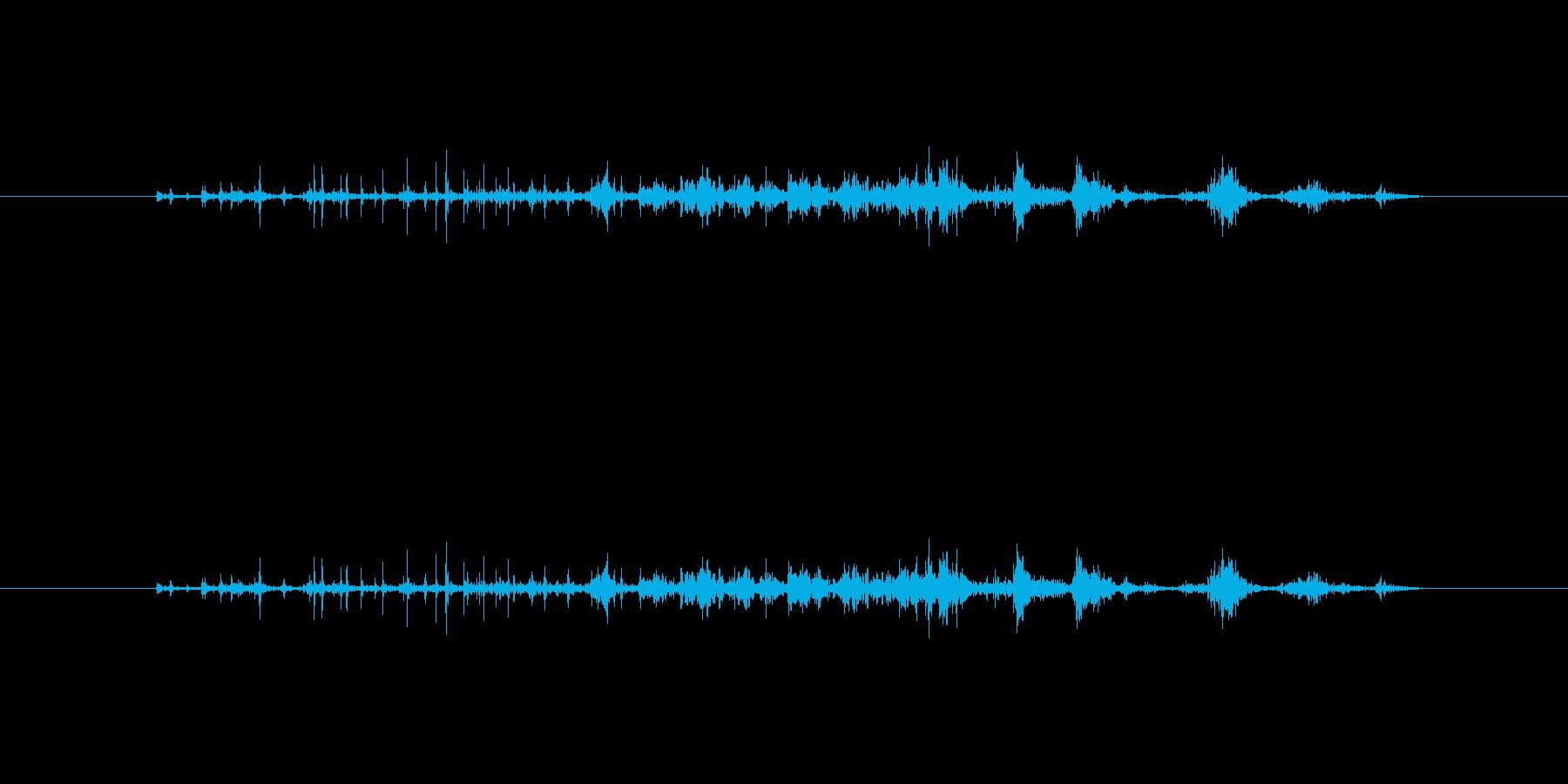 【本03-6(パラパラ)】の再生済みの波形