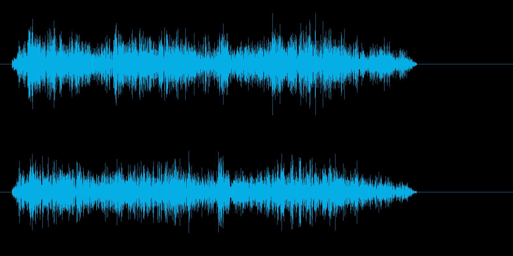 シュルルッ(ビーム音)の再生済みの波形