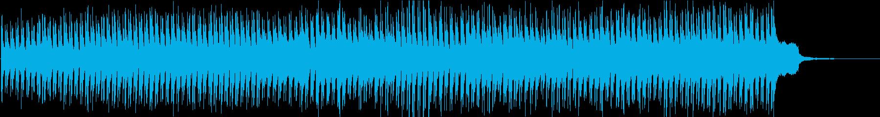 ハーディーガーディーの古楽器ファンタジーの再生済みの波形